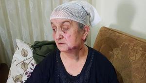 Yaşlı kadın, hırsızdan ölü taklidi yaparak kurtuldu