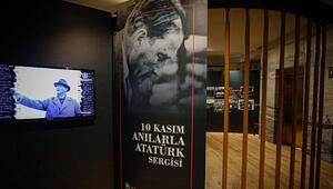 10 Kasım Anılarla Atatürk Sergisi açıldı