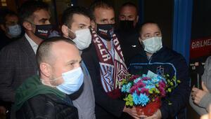 Son Dakika Haberi   Abdullah Avcı'ya Trabzonda coşkulu karşılama