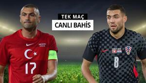 Hazırlık maçında rakibimiz Hırvatistan A Milli Takımımıza verilen iddaa oranı...