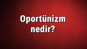 Oportünizm nedir Fırsatçılık ne demek Oportnizm hakkında bilgi