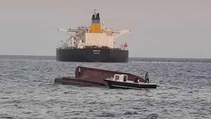Son dakika haberler... Adanada Türk bayraklı tekne ile Yunan bayraklı tanker çarpıştı: Acı haber geldi