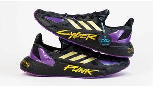 Adidas'tan Cyberpunk 2077 ayakkabıları