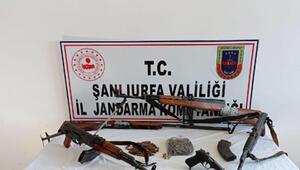 Kümeste toprağa gömülü bulunan silahlarla ilgili 2 tutuklama