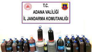Adanada kaçak içki operasyonu