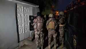 İskenderunda çeşitli suçlardan arananlara operasyon: 6 gözaltı