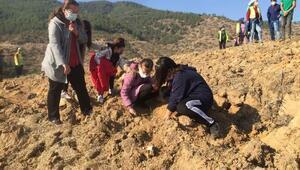 Alaşehirde 3 bin 550 fidan toprakla buluşturuldu