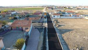 Karatayda 200 bin ton asfalt hedefi aşıldı