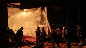 Ankara Sitelerde korkutan yangın