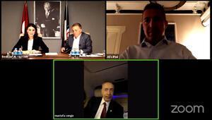 Mustafa Cengiz, Ali Koç ve Ahmet Nur Çebi Pamir bebek için bir araya geldi