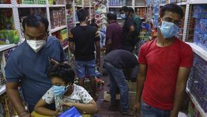 Hindistanda Kovid-19dan 550 kişi hayatını kaybetti