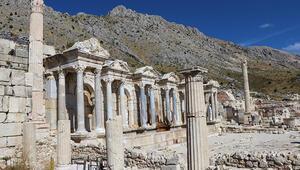 Aşkların ve imparatorların şehri Sagalassos 5 ayda 30 bin ziyaretçi ağırladı