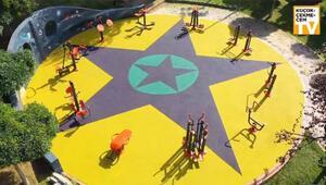 Çocuk parkında terör sembolü iddiası Başsavcılık soruşturma başlattı...