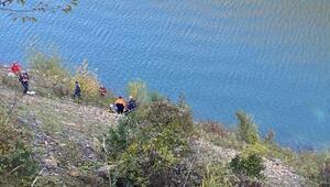 Otomobil baraj gölüne uçtu: 3 ölü
