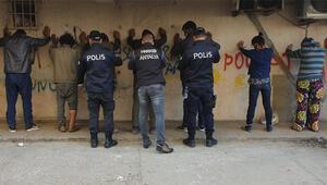 Antalyada 300 polisle operasyon Çok sayıda adrese baskın