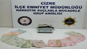 Şırnakta uyuşturucu satıcılarına operasyon: 4 gözaltı