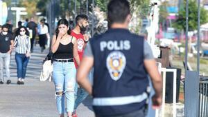 Antalya polisinden sigara ve maske uyarısı