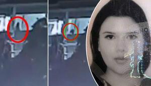 Son dakika haber... Beyoğlunda İspanya vatandaşı genç kızın 4üncü kattan düşme anı