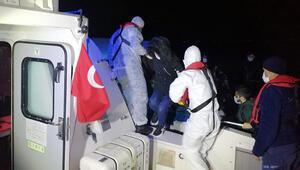 Marmaris açıklarında 24 sığınmacı kurtarıldı