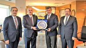 Yargıtay Başkanı Akarca ve Yargıtay Cumhuriyet Başsavcısı Şahinden TBB Başkanı Feyzioğluna ziyaret