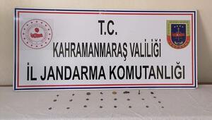 Kahramanmaraş'ta tarihi eser operasyonu 1 gözaltı