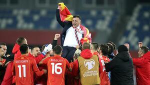 Kuzey Makedonya, EURO 2020 biletini tek golle aldı