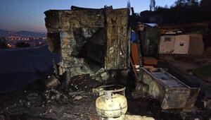 Ankarada hırsızlar kulübe yaktı, 24 güvercin öldü