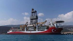 Kanuni Sondaj Gemisi Kadıköy açıklarında demirledi