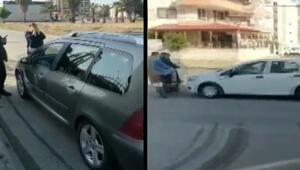 Kaza yerini görüntülediği sırada başka bir kazayı çekti