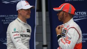 Hamilton, Schumacherin rekoru için piste çıkacak Şampiyonluk ihtimalleri...