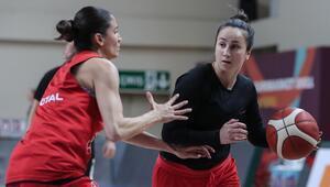 A Milli Kadın Basketbol Takımının konuğu Sırbistan