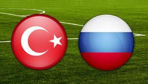 Milli maç ne zaman Türkiye Rusya maçı için geri sayım başladı