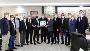 Kayseri Amatör Spor Kulüpleri Federasyonundan Başkan Öztürke ziyaret