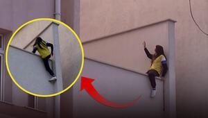 İntihara kalkışan kadını polis kurtardı