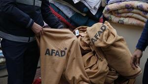 Vicdansızlar depremzedelerin battaniyelerini satışa çıkardı