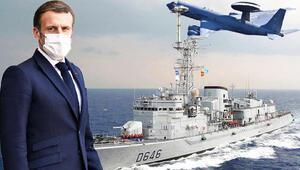 Macron'dan Akdeniz'de Türkiye'ye yakın markaj