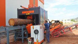 10 orman işçisinin yapacağı işi tek makineye sığdırdı
