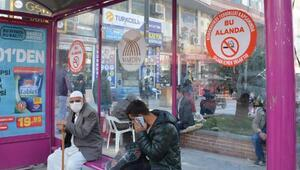 Mardinde sigara yasağıyla ilgili bilgilendirme