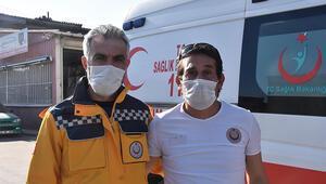 İzmirde Ayda'yı hastaneye götüren sağlıkçılar, o anları anlattı
