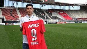 AZ Alkmaar forması giyen gurbetçi Yusuf Barasının tercihi Türkiye oldu