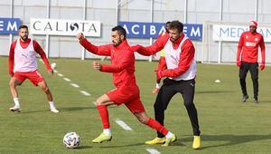 Sivassporda Fatih Karagümrük maçı hazırlıkları