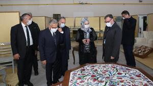 Başkan Büyükkılıç, KAYMEK Sanat Merkezini inceledi