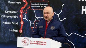 Son dakika... Bakan Karaismailoğlundan önemli metro açıklaması