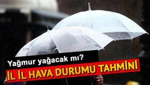 Pazar günü hava nasıl olacak 15 Kasım Türkiye geneli hava durumu raporu