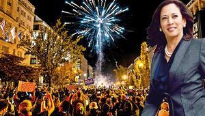 ABD'deki kutlamalar ve zaferin başmimarı Kamala Harris