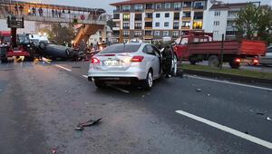 Zonguldak'ta zincirleme kaza: 5 yaralı