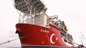 Sondaj gemisi 'Kanuni' Zonguldak'a ulaştı