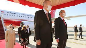 Son dakika... Cumhurbaşkanı Erdoğandan KKTCye tarihi ziyaret