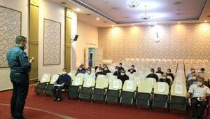 Melikgazi Belediyesi çalışanlarına ilk yardımı eğitimi verildi