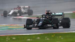 Son dakika haberi: Formula 1 Türkiye GPde kazanan Lewis Hamilton şampiyon oldu